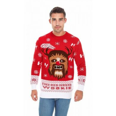 The Red-Nosed Wookiee | Mannen